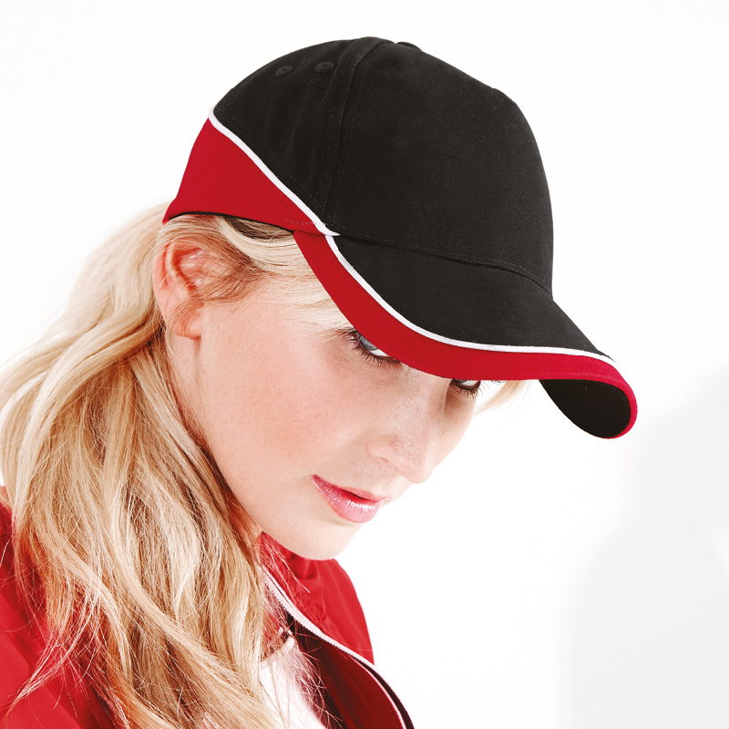 RW223 Beechfield Unisex Adjustable Teamwear Baseball Cap Sports Hat