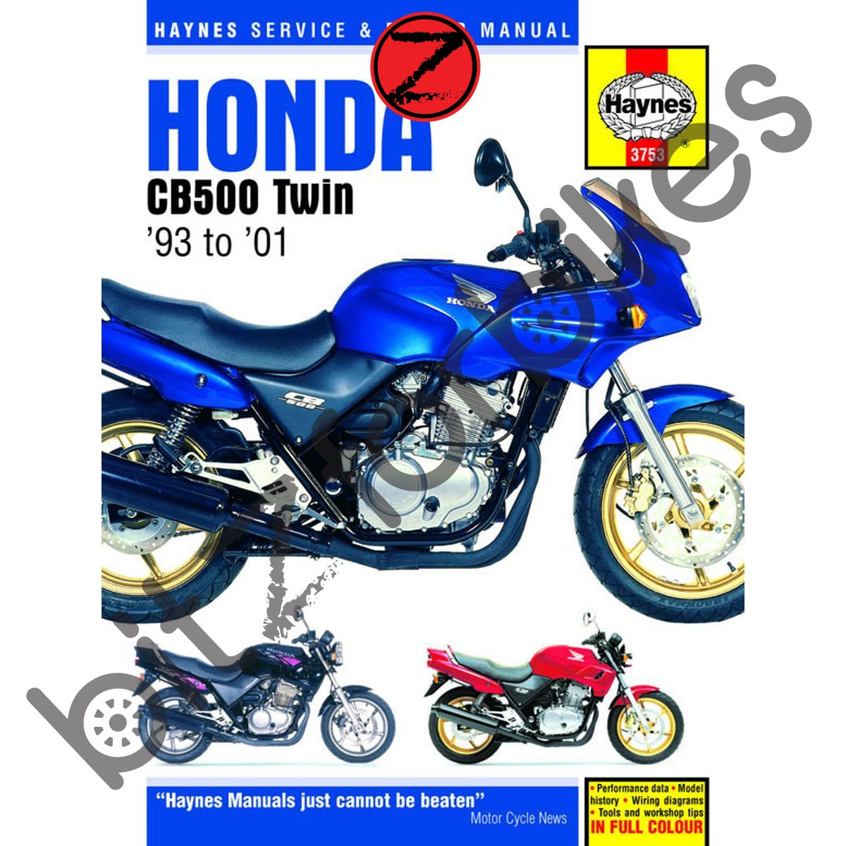 Groovy Haynes Motorcycle Manual Honda Cb500 S 93 02 Cbf500 03 08 Ebay Wiring 101 Breceaxxcnl