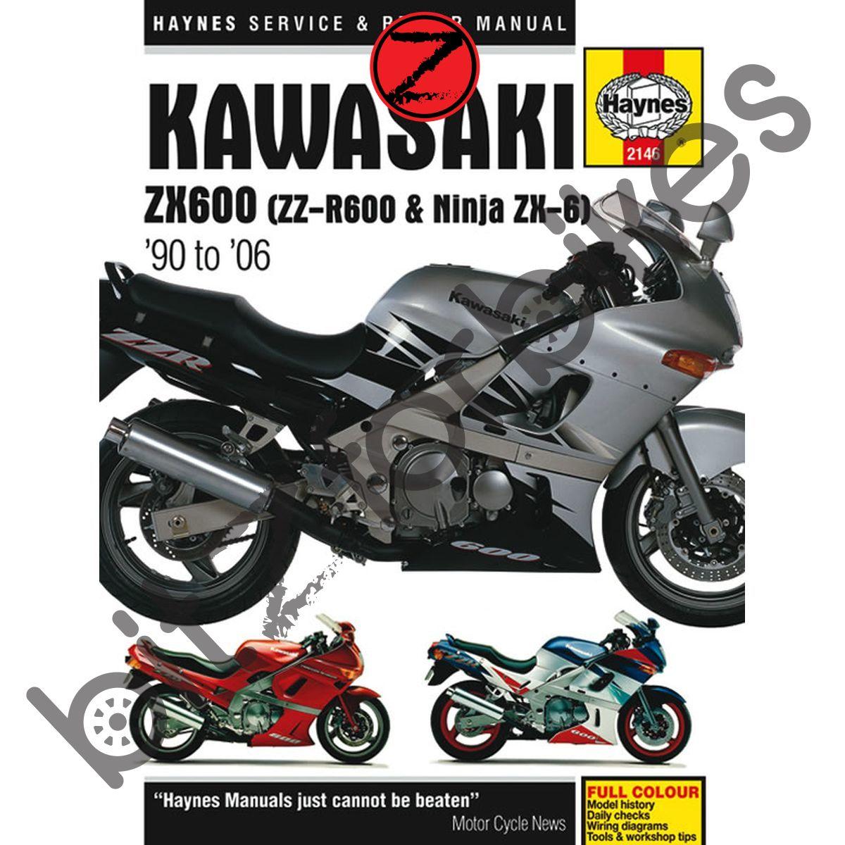 WRG-8282] 2006 Kawasaki Zzr600 Wiring Diagram on