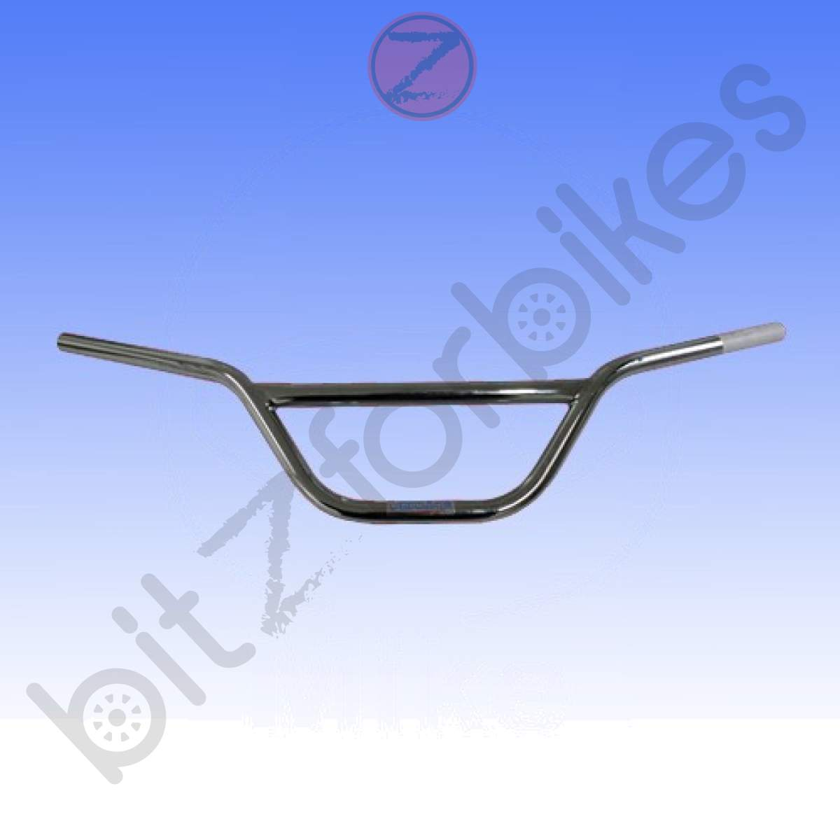 Tommaselli handlebar steel 22mm black