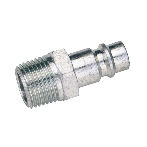 Draper 54415 A7102 1/4 BSP Male Nut PCL Euro Coupling Adaptor Thumbnail 1