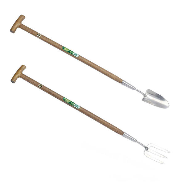 Draper 44991 ,GLTF/FSC Long Handled Handle Weeding Fork and Trowel Thumbnail 1