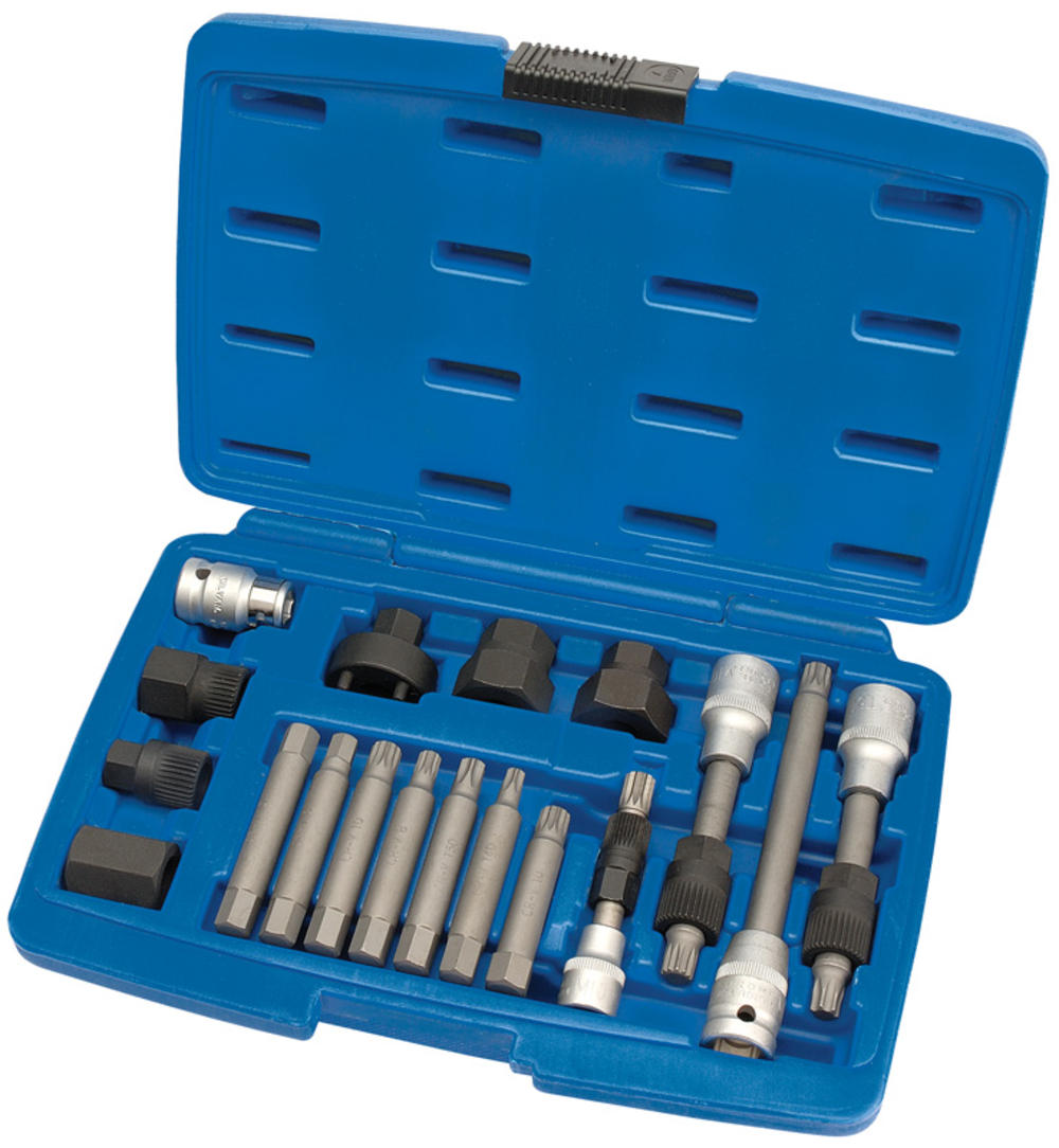 Draper 31921 AFWPS18 Expert Alternator Pulley Tool Kit (18 Piece)