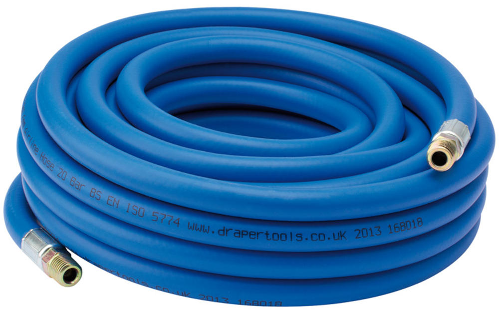 "Draper 38331 AH10M8 10M Airline Hose (5/16"") 8mm Inside Diameter"