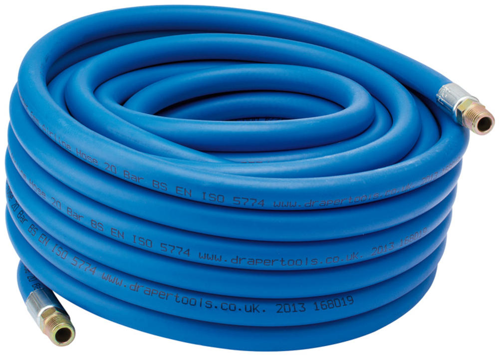 "Draper 38332 AH15M8 15M Airline Hose(5/16"") 8mm Inside Diameter"