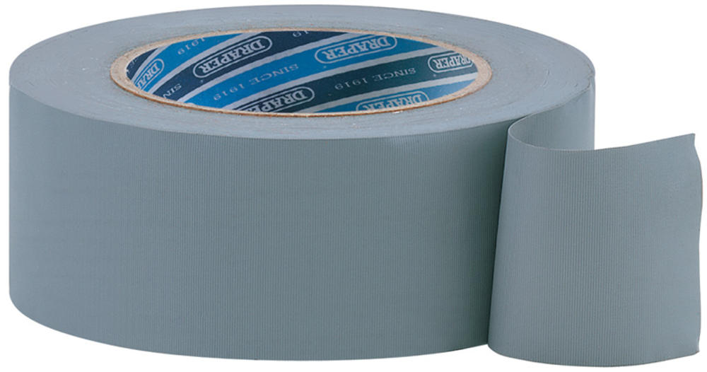 Draper 49430 TP-DUCT/A 30M x 50mm Grey Duct Tape Roll