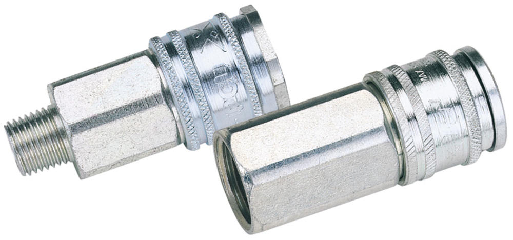 "Draper 54408 AC71EF BULK Euro Coupling Female Thread 3/8"" BSP Parallel (Sold Loose)"