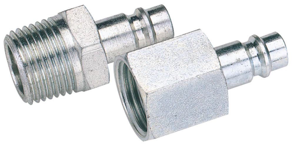 "Draper 54418 A7105 BULK 1/8"" BSP Female Nut PCL Euro Coupling Adaptor (Sold Loose)"