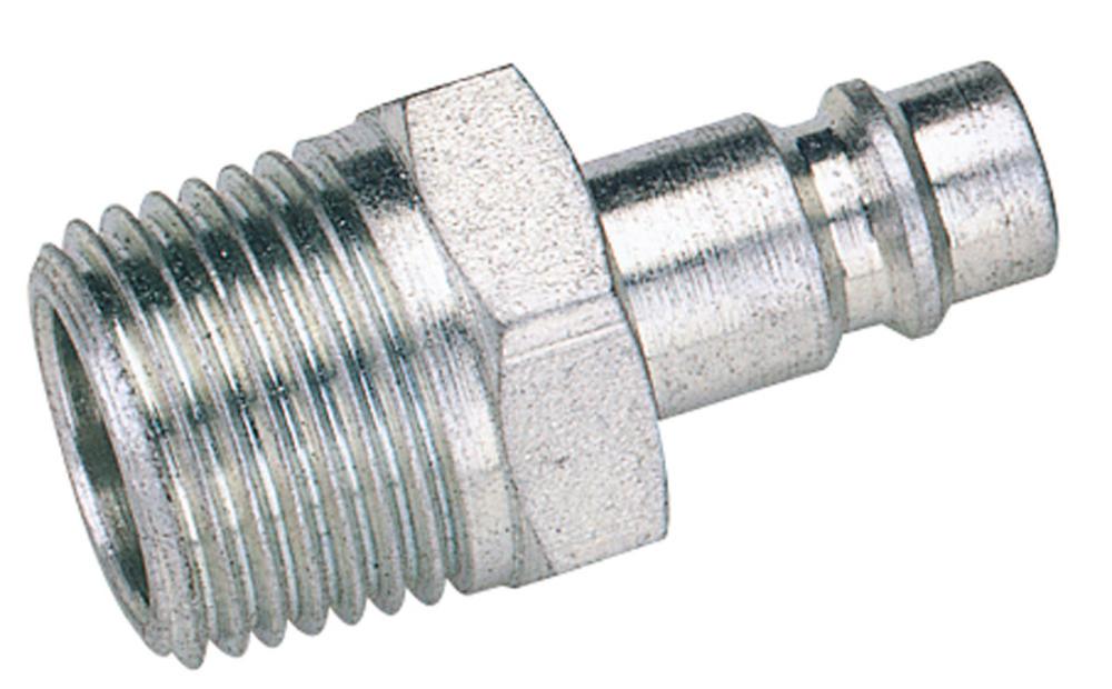 "Draper 54417 A7104 BULK 1/2"" BSP Male Nut PCL Euro Coupling Adaptor (Sold Loose)"