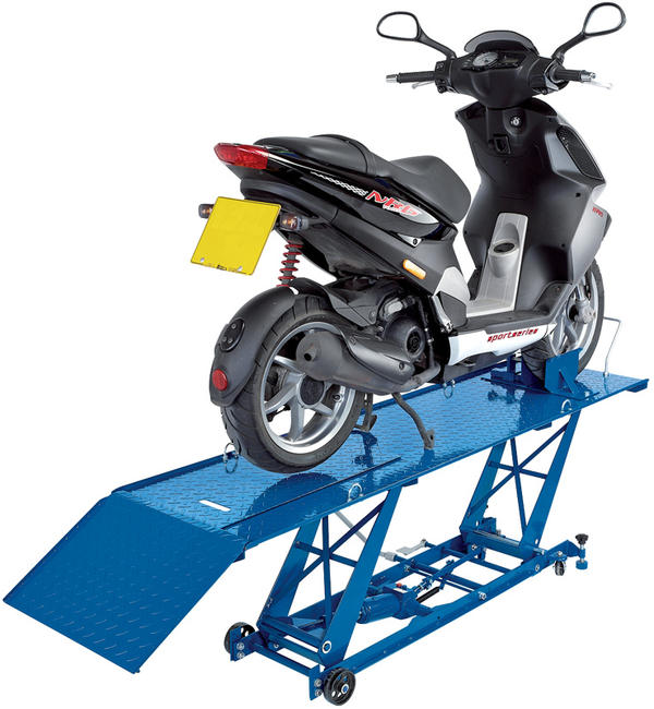 Draper 37058 MCL1 360kg Hydraulic Motorcycle Lift Thumbnail 2