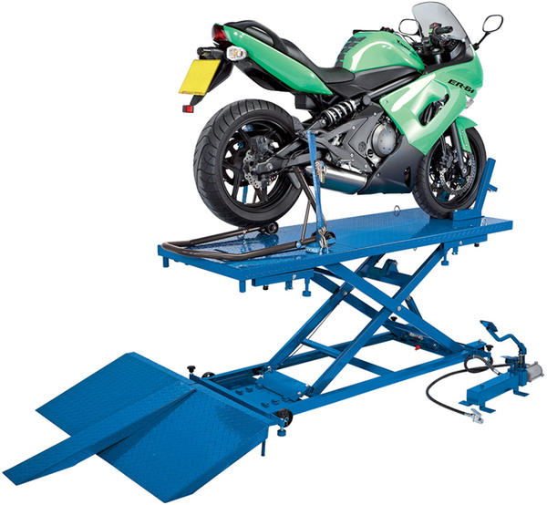 Draper 37190 MCL4 680kg Pneumatic/Hydraulic Motorcycle/ATV Lift Thumbnail 2