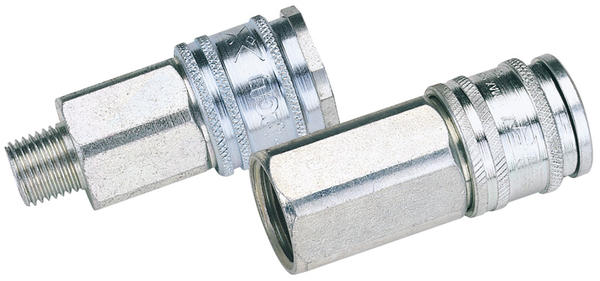 "Draper 54408 AC71EF BULK Euro Coupling Female Thread 3/8"" BSP Parallel (Sold Loose) Thumbnail 1"