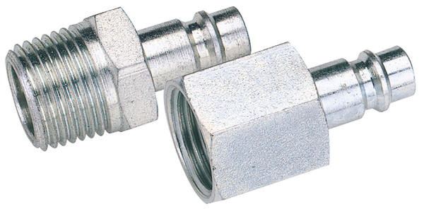 "Draper 54418 A7105 BULK 1/8"" BSP Female Nut PCL Euro Coupling Adaptor (Sold Loose) Thumbnail 1"