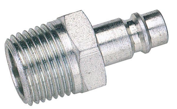 "Draper 54417 A7104 BULK 1/2"" BSP Male Nut PCL Euro Coupling Adaptor (Sold Loose) Thumbnail 1"