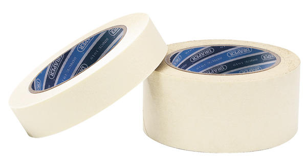 Draper 63478 TP-MASKPRO Expert 50M x 25mm Masking Tape Roll Thumbnail 1