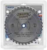 Draper 03637 CSB185MP/B Expert TCT Saw Blade 185X20mmx36T