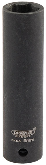 "Draper 5187 Expert 9mm 1/4"" Square Drive Hi-Torq 6 Point Deep Impact Socket"