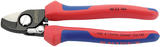 Knipex 09448 95 22 165 Knipex 165mm Copper or Aluminium Only Cable Shear with Sprung Heavy Duty Handles