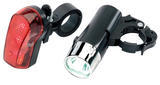 Draper 24815 BL3/LED Front and Rear LED Bicycle Light Set