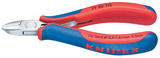 Knipex 27724 77 02 130 Knipex 130mm Bevelled Electronics Diagonal Cutters