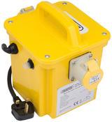 Draper 31262 DPT1000/1B 1kVA 230V to 110V Portable Site Transformer