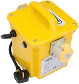 Draper 31263 DPT1500/2B 1.5kVA 230V to 110V Portable Site Transformer