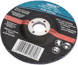 Draper 31381 GDM2B 115 x 6 x 22.2mm Bore Depressed Centre Grinding Disc