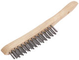 Draper 50934 WB/L 290mm 2 Row Wire Scratch Brush