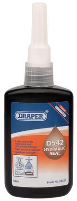 Draper 33321 DHS542 D542 Hydraulic Seal