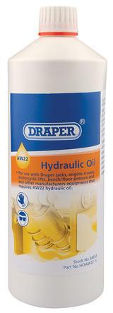 Draper 34053 HOAW22-1L 1L AW22 Hydraulic Oil