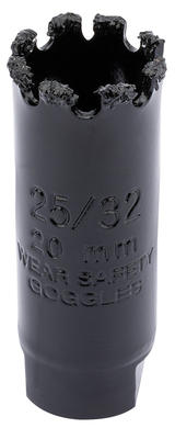 Draper 34866 TCGHSP Expert 20mm Tungsten Carbide Grit Hole Saw