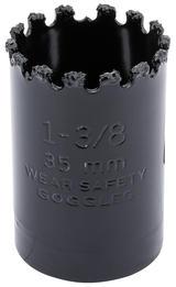 Draper 34881 TCGHSP Expert 35mm Tungsten Carbide Grit Hole Saw