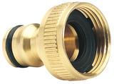"""Draper 36198 GWB1A/H Expert Brass 3/4"""" BSP Garden Hose Tap Connector"""