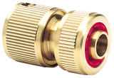 "Draper 36202 GWB3/H Expert Brass 1/2"" Hose Connector with Water Stop"