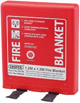Draper 36758 FIRE6/B 1.2 x 1.2M Fire Blanket