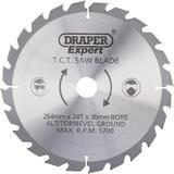 Draper 38153 CSB255P Expert TCT Saw Blade 254X30mmx24T