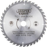 Draper 38154 CSB255P Expert TCT Saw Blade 254X30mmx40T