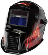 Draper 38392 WGH4 Solar Powered Auto-Varioshade Welding and Grinding Helmet-Flame