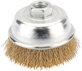 Draper 41442 346P 75mm Heavy Duty Wire Cup Brush with M14 Thread