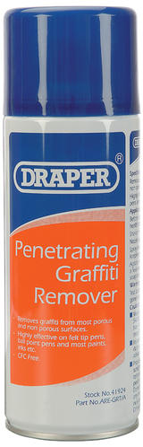 Draper 41924 ARE-GRT/A 400ml Penetrating Graffiti Remover