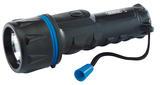 Draper 43072 RHT2DF Rubber Torch (2 x D Batteries)