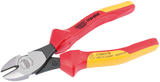 Draper 50251 805DSCHL Expert 180mm Expert Ergo Plus Fully Insulated High Leverage VDE Diagonal Side Cutters