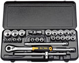 "Elora 50648 770-OKLMU 25 Piece 1/2"" Square Drive Metric Socket Set"