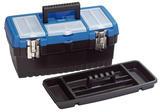 Draper 53878 TB413 400mm Tool/Organiser Box with Tote Tray