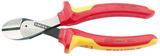 Knipex 54087 73 08 160UKSBE Knipex VDE Fully Insulated 'X Cut' High Leverage Diagonal Side Cutters