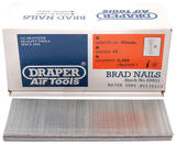 Draper 59831 AAN45 45mm Brad Nails (5000)