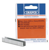 Draper 62019 ASTNE12 12mm Staples (1000)