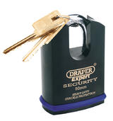 Draper 64197 8312/50 Expert 50mm Heavy Duty Padlock and 2 Keys with Shrouded Shackle