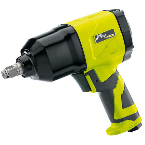 Draper 65017 SFAI12 Storm Force Air Impact Wrench with Composite Body Thumbnail 1