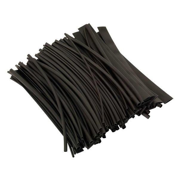 Sealey HST200B Heat Shrink Tubing Black 200mm Pack of 100 Thumbnail 1
